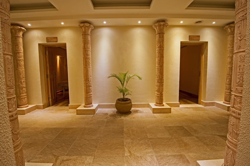 Interior Of A Luxury Health Spa