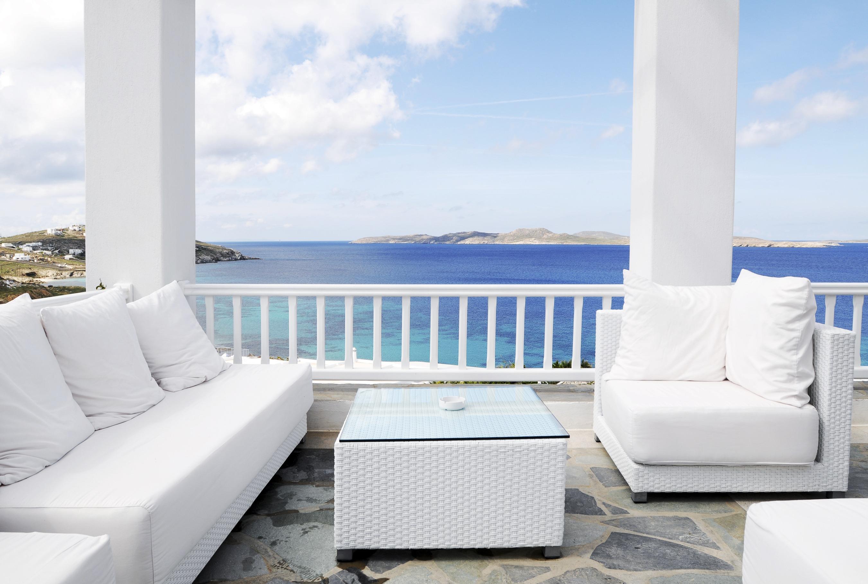 Beautiful Seascape White Style House
