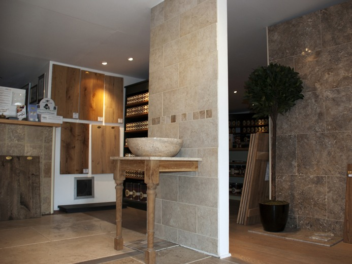 porcelain tiles in the home