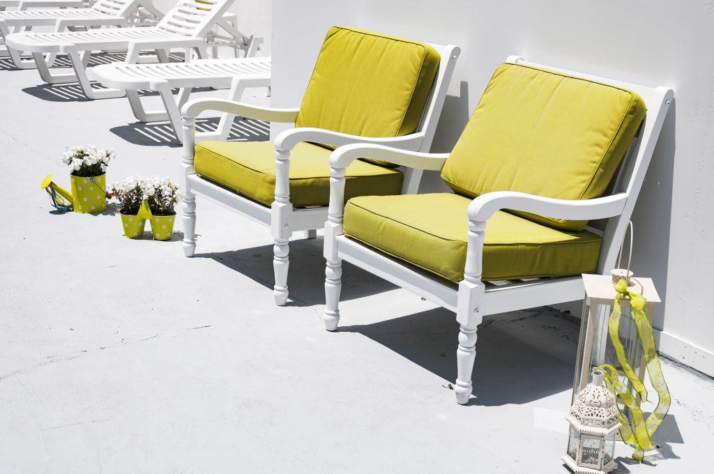 Green Sun Chairs