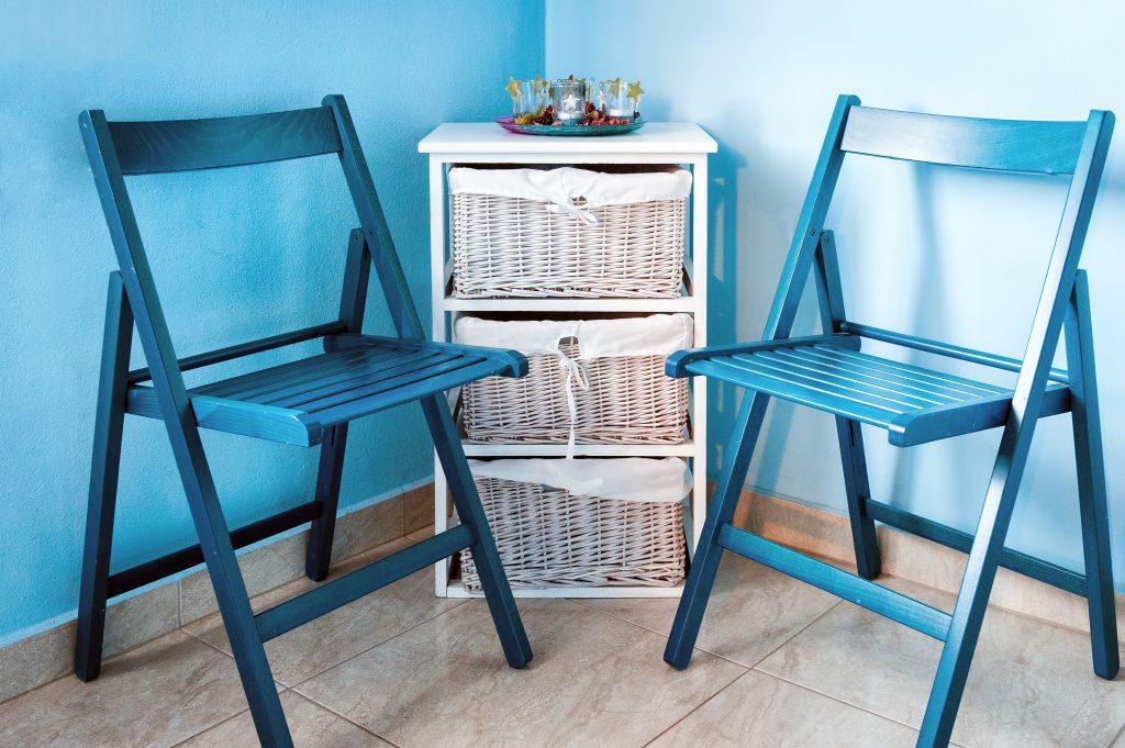 Blue and White Interior Design