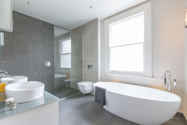 Grey Bathroom -iStock_000028117820_Large