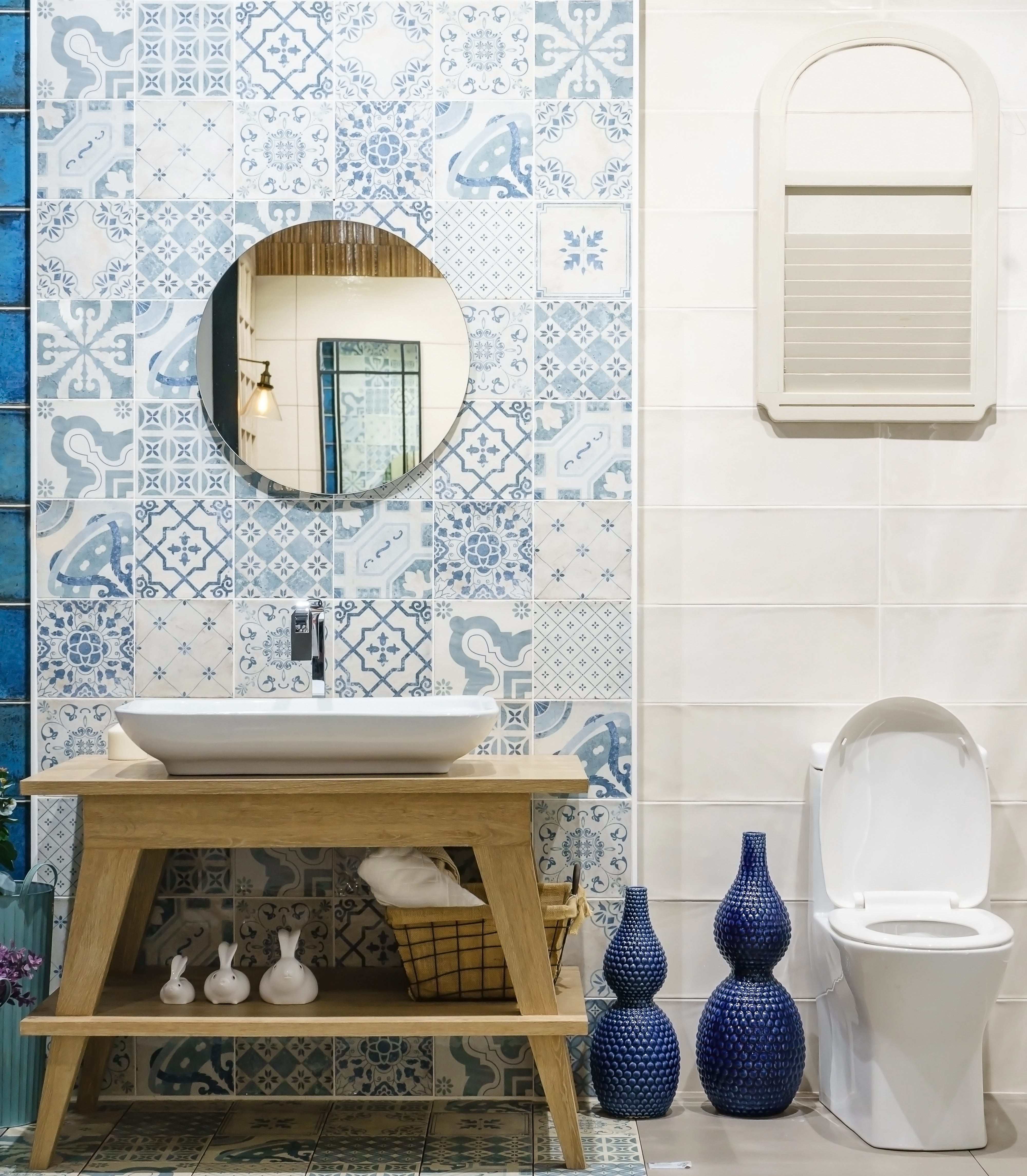 A Stunning Tile Feature Wall