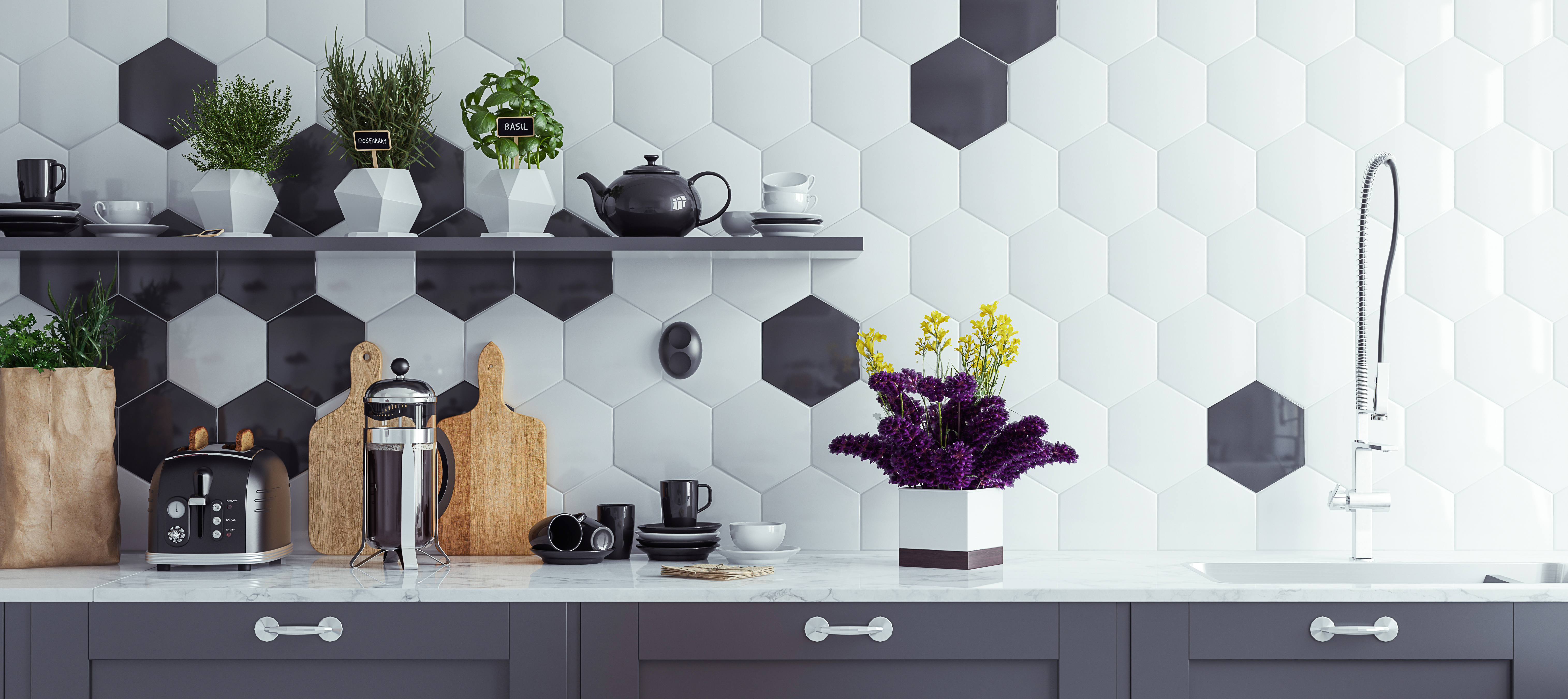 Tiles with Accents