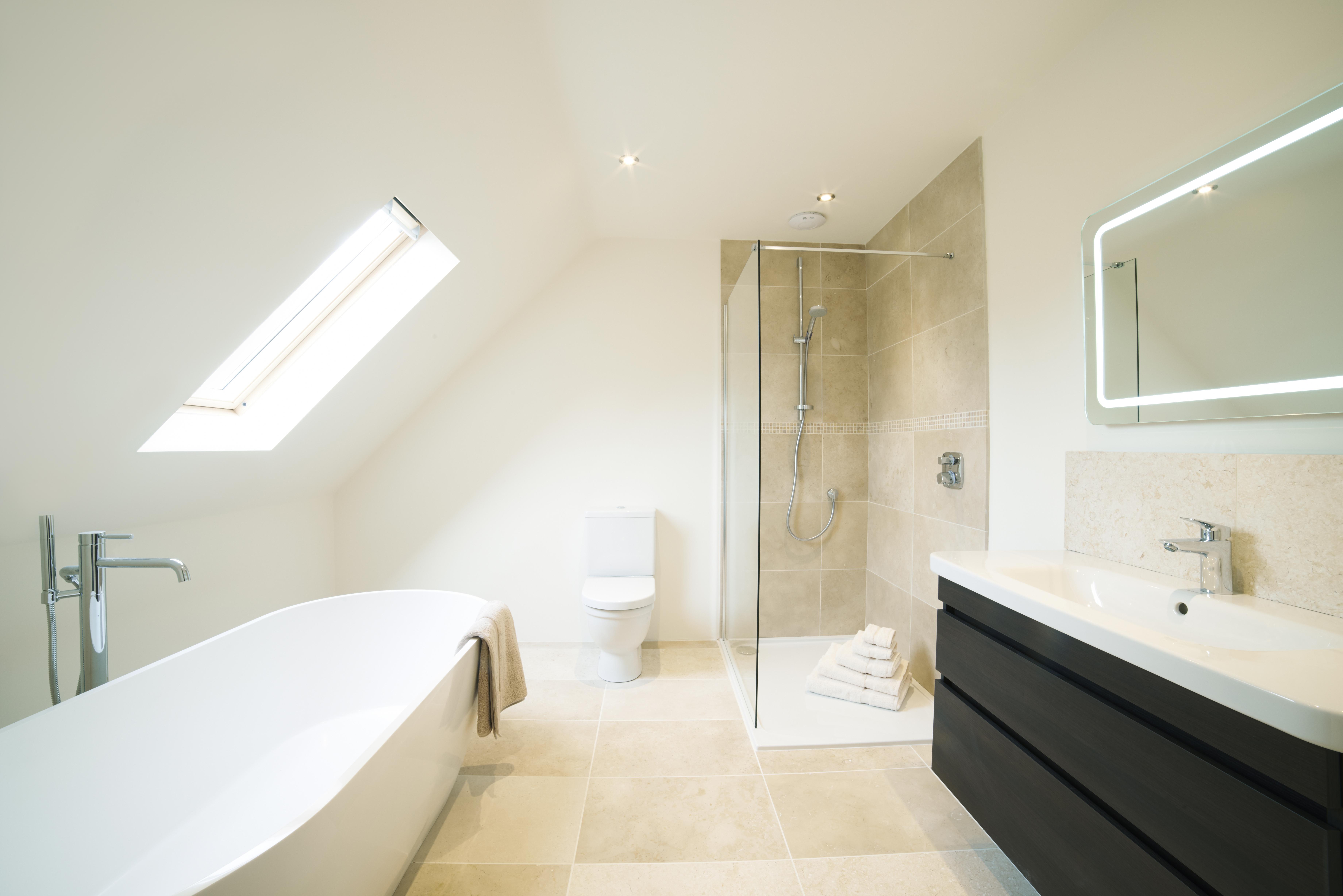 A Beautifully Neutral Bathroom