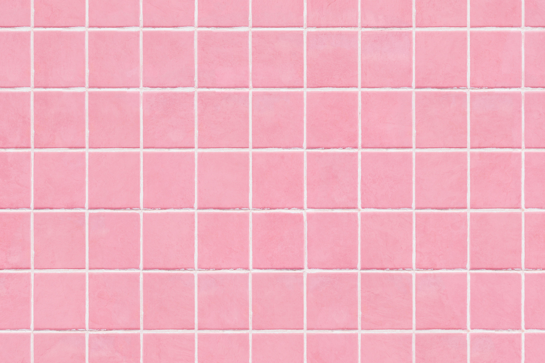 Pastel Pink Tiles